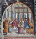 Il presepe di Greccio - Chiesa di San Francesco, Montefalco