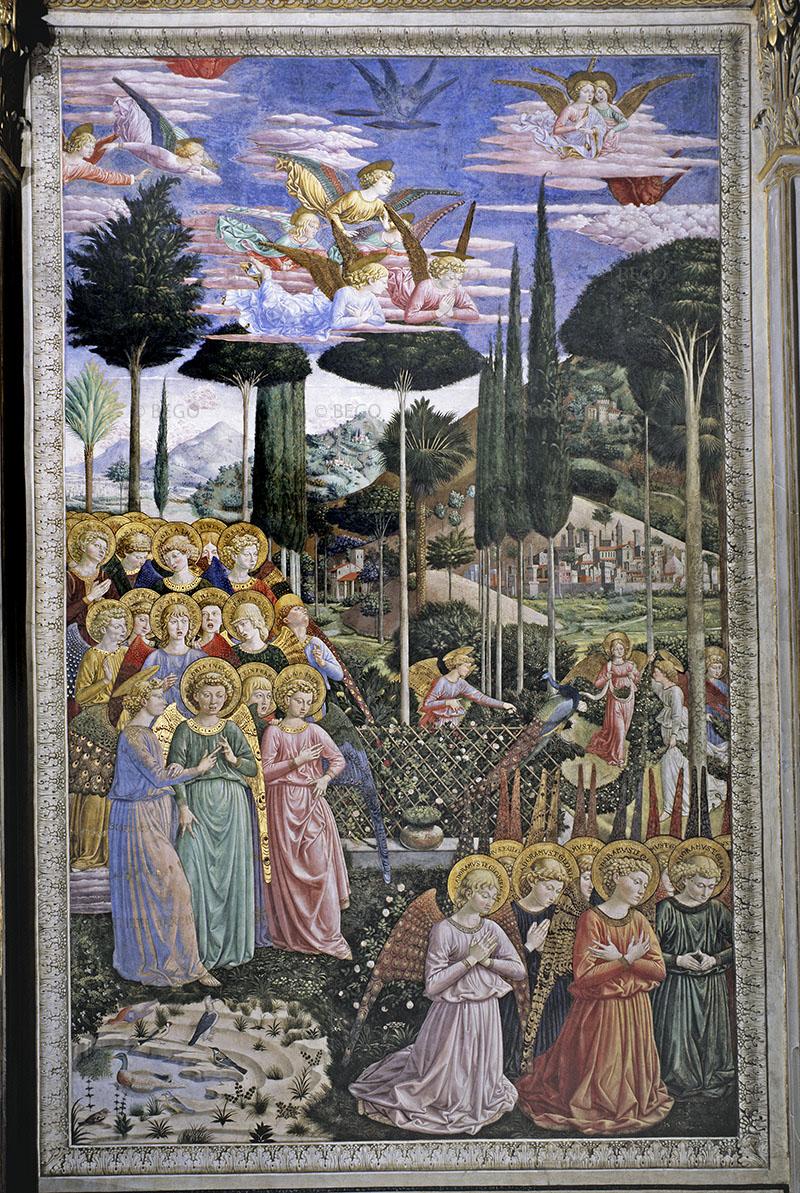 Cappella dei Magi, Angeli in adorazione - - Firenze - © Provincia di Firenze / Antonio Quattrone
