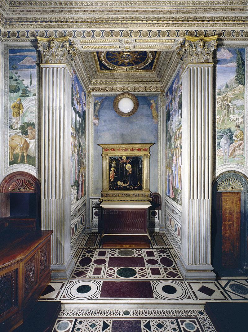 Cappella dei Magi, parete con altare - Firenze - © Provincia di Firenze / Antonio Quattrone