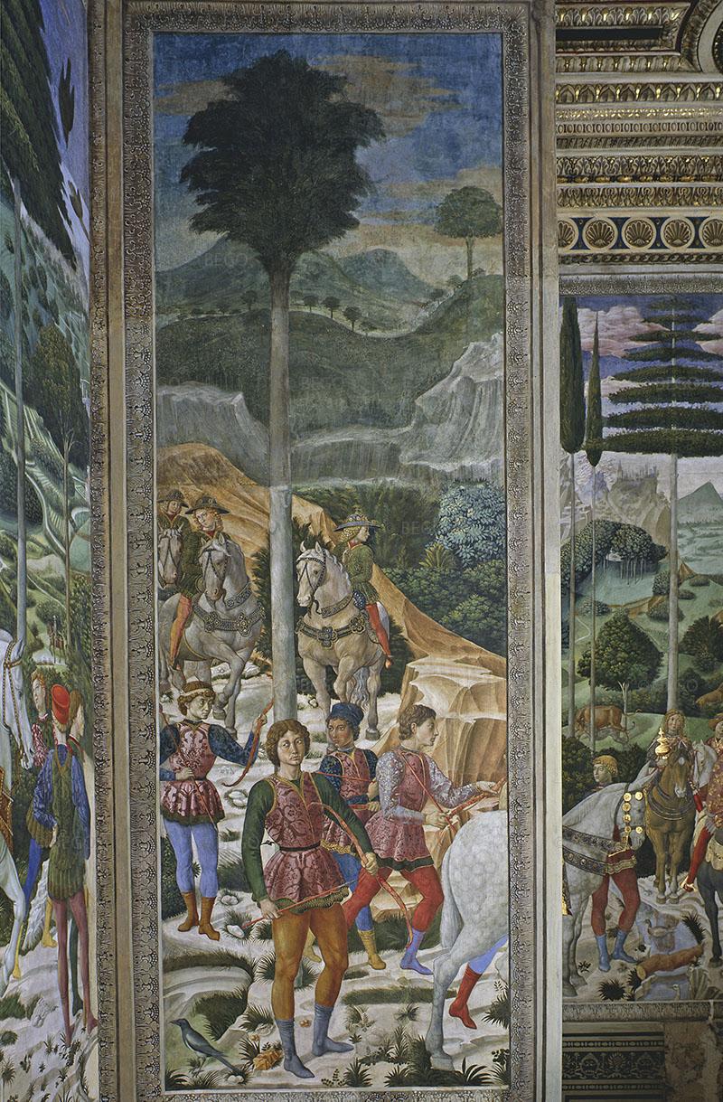 Cappella dei Magi, parete con armati - Firenze - © Provincia di Firenze / Antonio Quattrone