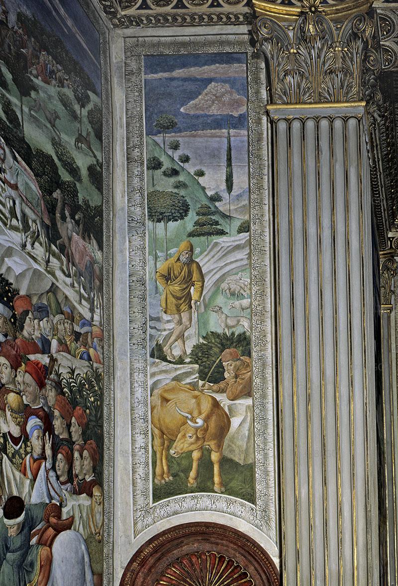 Cappella dei Magi, parete con pastori e gregge - Firenze - © Provincia di Firenze / Antonio Quattrone