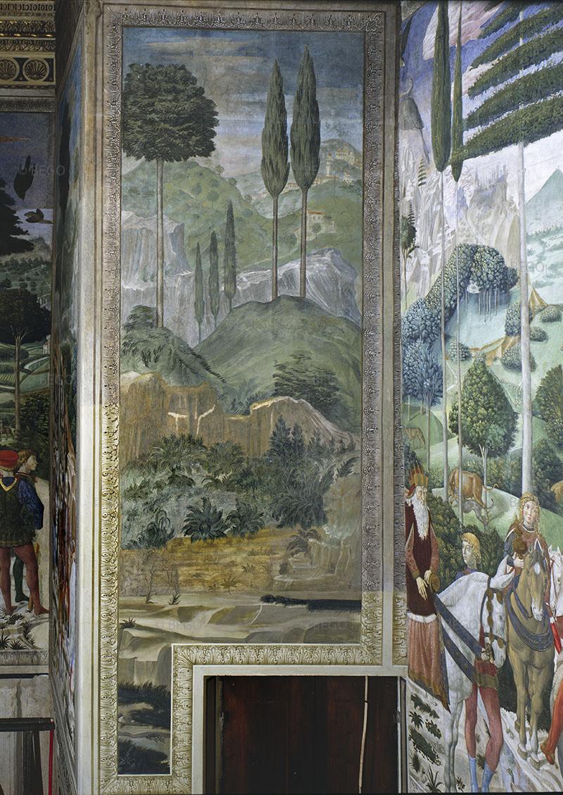 Cappella dei Magi, parete di ingresso - Firenze - © Provincia di Firenze / Antonio Quattrone