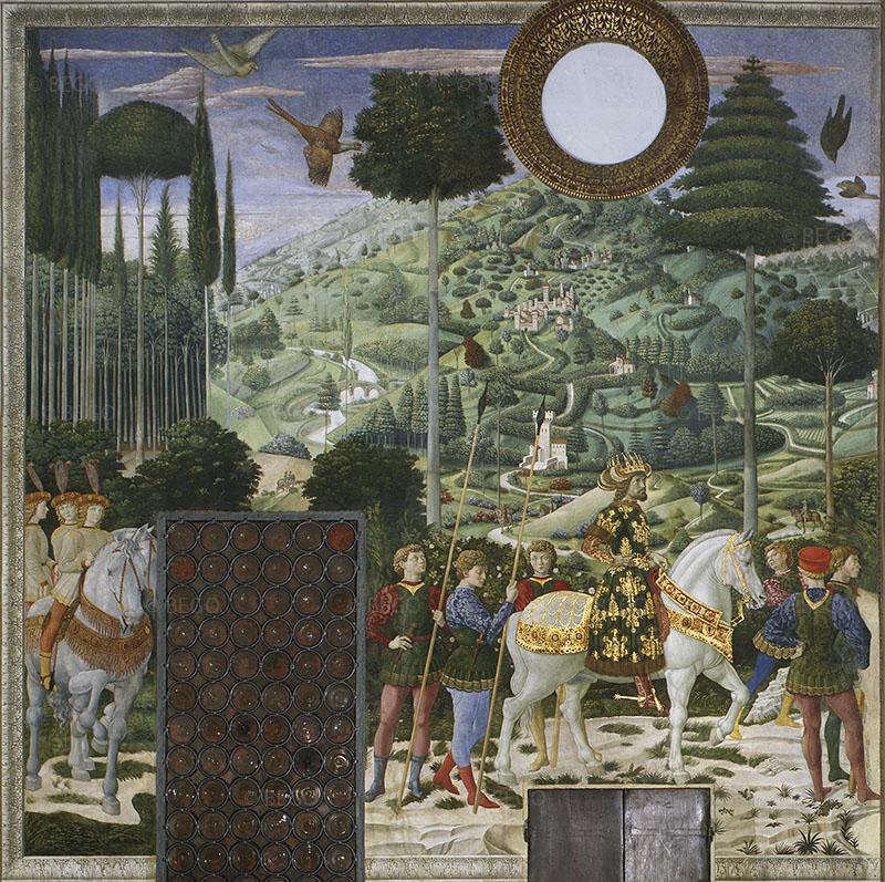 Corteo dei Magi, parete di fondo - Firenze - © Provincia di Firenze / Antonio Quattrone
