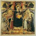 Madonna in trono col Bambino tra i santi Giovanni Battista, Maria Maddalena, Agostino e Marta - Museo Civico, San Gimignano - © Comune di San Gimignano / Duccio Nacci
