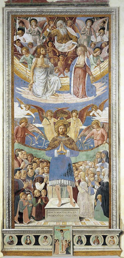 San Sebastiano - chiesa di Sant'Agostino, San Gimignano - © Convento S. Agostino / Duccio Nacci