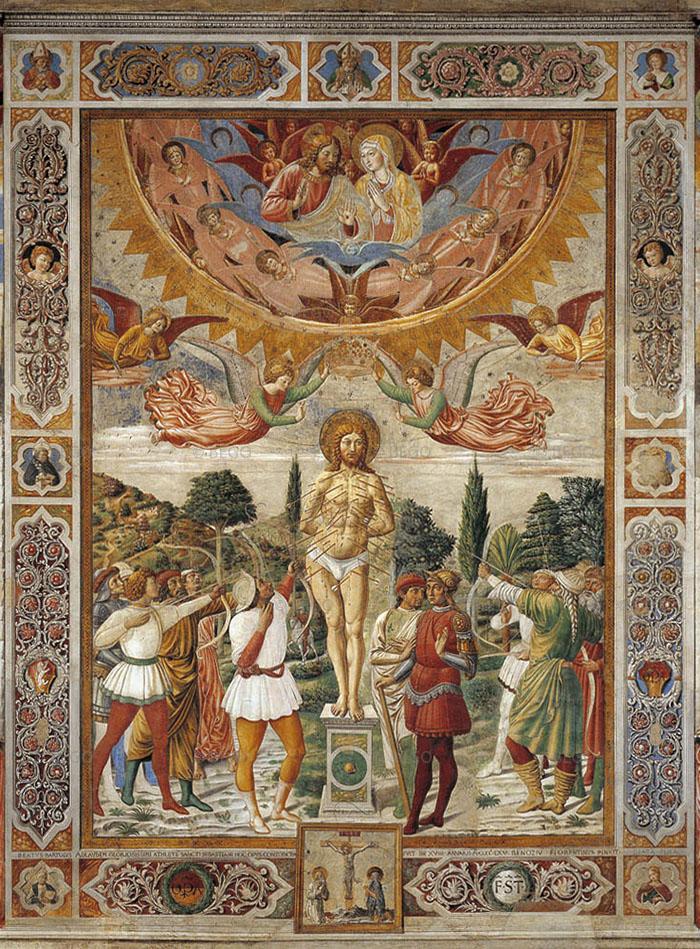 San Sebastiano - - Collegiata, San Gimignano - © Opera del Duomo di San Gimignano e Arcidiocesi di Siena-Colle di Val d'Elsa-Montalcino / Duccio Nacci