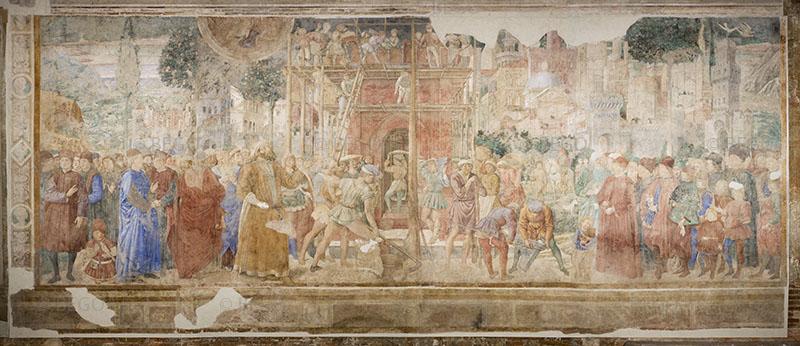 Costruzione della torre di Babele -- - Camposanto, Pisa - © Opera della Primaziale Pisana