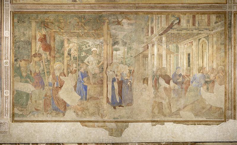 Vendemmia ed ebrezza di Noè -- - Camposanto, Pisa - © Opera della Primaziale Pisana