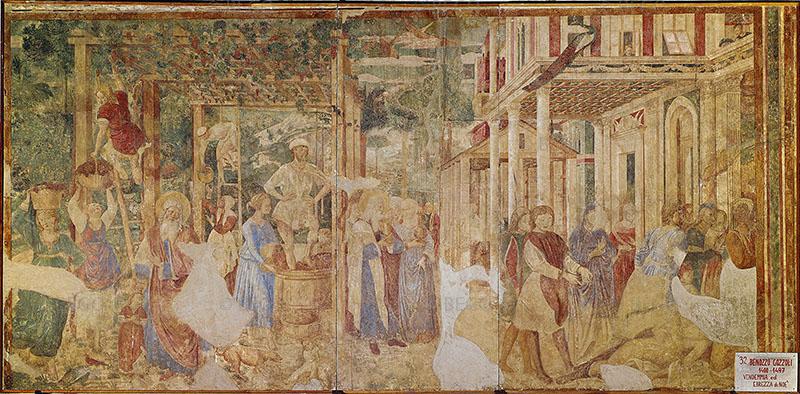 Vendemmia ed ebrezza di Noè - - Camposanto, Pisa - © Opera della Primaziale Pisana / Archivio Fotografico Scala - Bagno a Ripoli (FI)