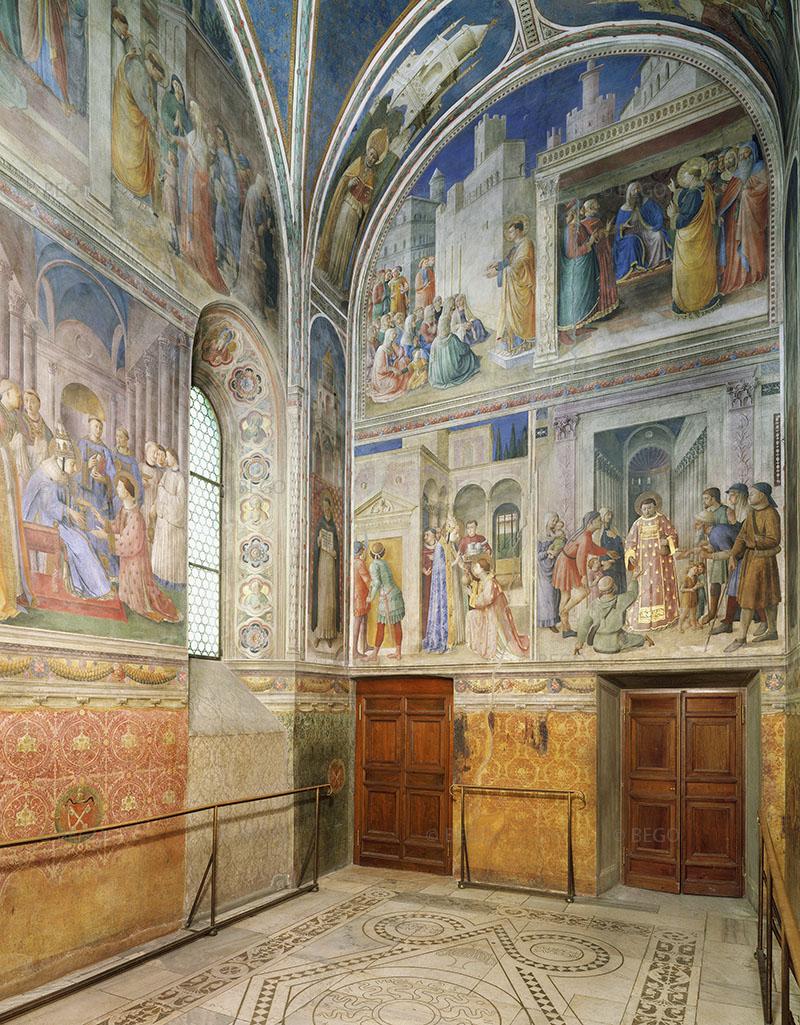 Interno della Cappella Niccolina - Vaticano - © Musei Vaticani / Archivio Fotografico Scala - Bagno a Ripoli (FI)