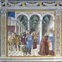 Agostino giunge a Milano - © Soprintendenza per i Beni Storici Artistici ed Etnoantropologici di Siena e Grosseto / Duccio Nacci