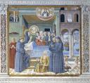 Morte di Santa Monica - Chiesa di Sant'Agostino, San Gimignano - © Soprintendenza per i Beni Storici Artistici ed Etnoantropologici di Siena e Grosseto / Duccio Nacci