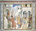 Presentazione di Agostino alla scuola di Tagaste - Chiesa di Sant&#039&#x3b;Agostino, San Gimignano - © Soprintendenza per i Beni Storici Artistici ed Etnoantropologici di Siena e Grosseto / Duccio Nacci