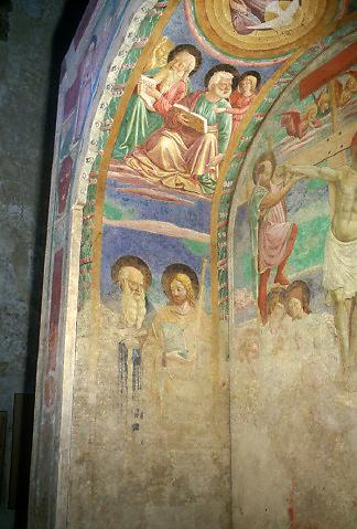 Tabernacolo dei Giustiziati, arcata con l'Annunciazione - Certaldo - © Comune di Certaldo