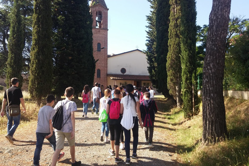 In the footsteps of Benozzo Gozzoli, Cosimo Rosselli and Neri di Bicci – Walking on the Via Francigena