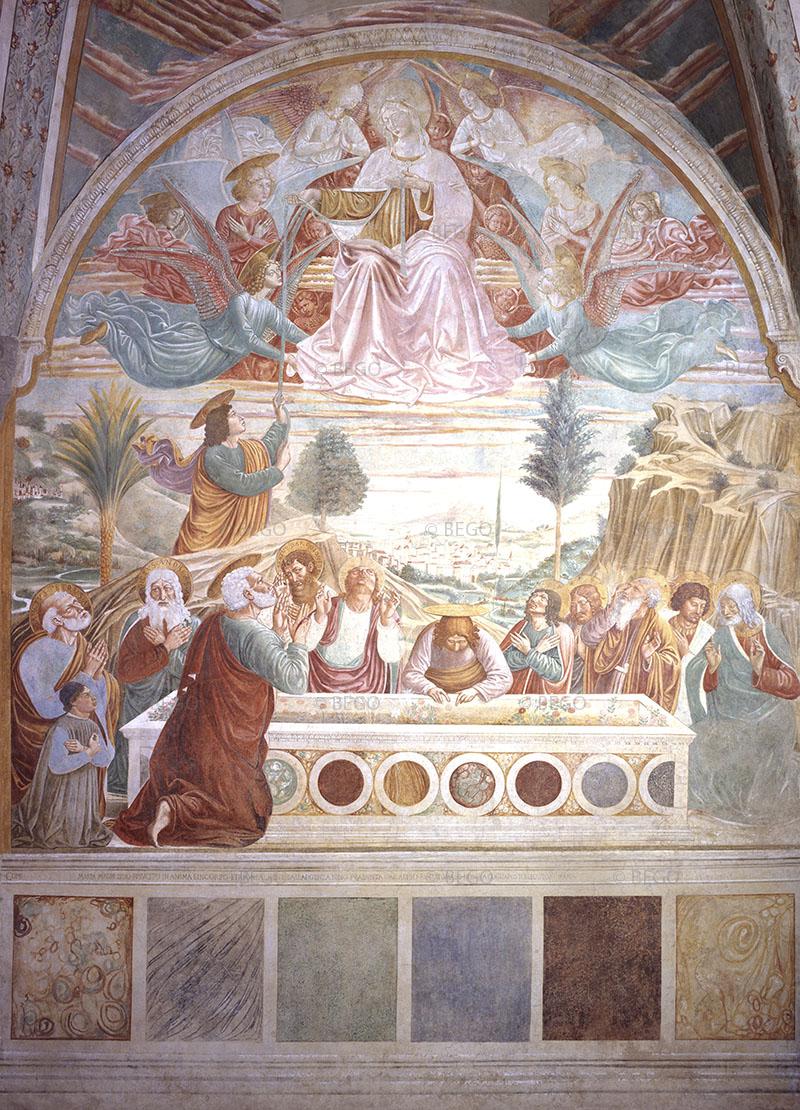 Assunzione della Vergine al cielo - - Tabernacolo della Madonna della Tosse, Museo Benozzo Gozzoli, Castelfiorentino - © Comune di Castelfiorentino