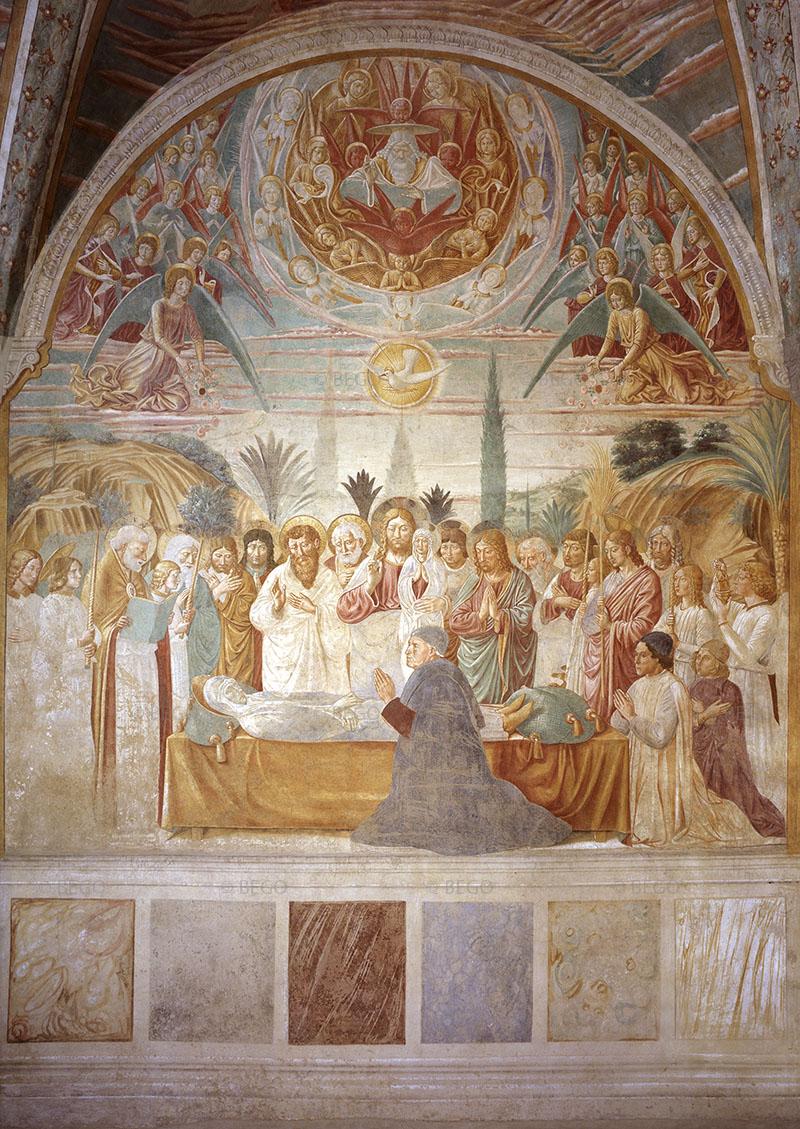 Esequie della Vergine - Tabernacolo della Madonna della Tosse, Museo Benozzo Gozzoli, Castelfiorentino - © Comune di Castelfiorentino