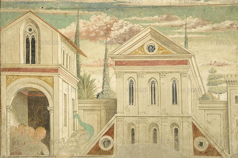 Lo Sposalizio della Vergine - - Tabernacolo della Visitazione, Museo Benozzo Gozzoli, Castelfiorentino - © Comune di Castelfiorentino / Antonio Quattrone