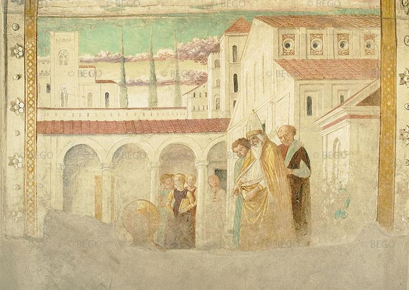 Maria al tempio - Tabernacolo della Visitazione, Museo Benozzo Gozzoli, Castelfiorentino - © Comune di Castelfiorentino / Antonio Quattrone