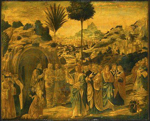Resurrezione di Lazzaro - National Gallery of Art, Washington